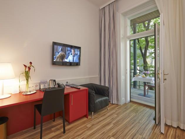 Wunderschöne Zimmer im Hotel Zipser in Wien