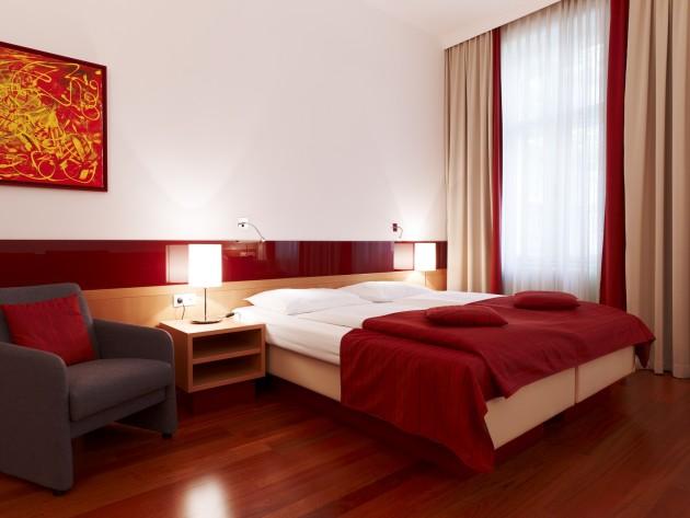 Zimmer zum Entspannen im Hotel Zipser in Wien