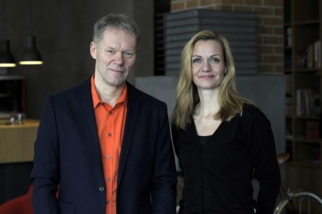 Stephan Kuehne und Sabine Deeken