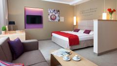 Komfortable Zimmer im Hotel das Capri in Wien