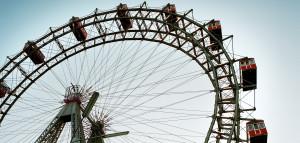 Das Riesenrad im Prater – weltberühmtest Wahrzeichen von Wien